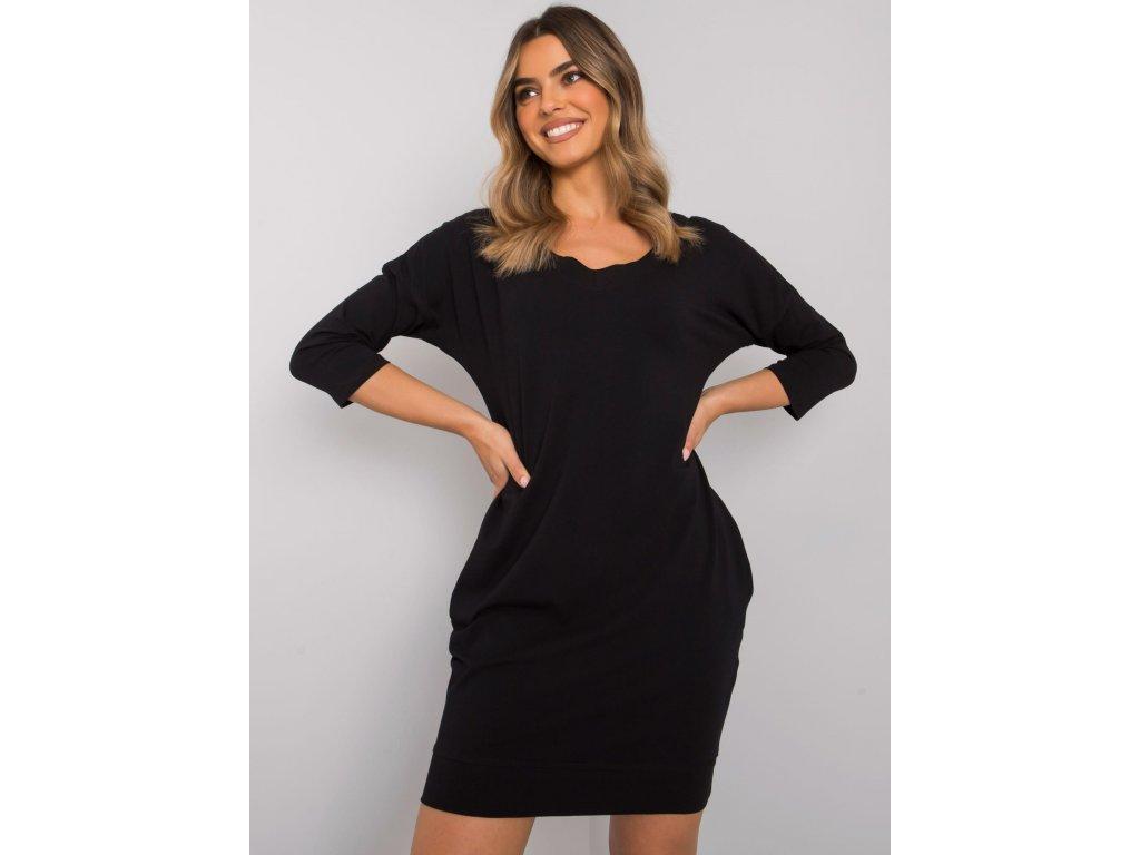 pol pl Czarna sukienka z bawelny Abijah 377624 1