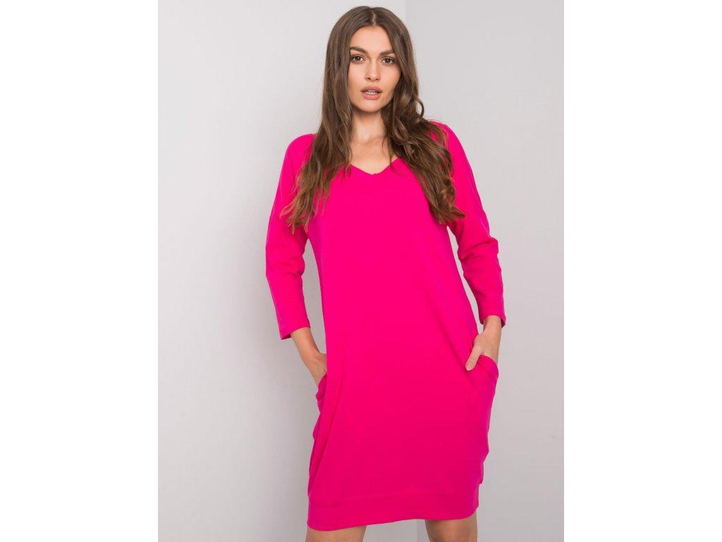 pol pl Fuksjowa sukienka z bawelny Abijah 377665 1