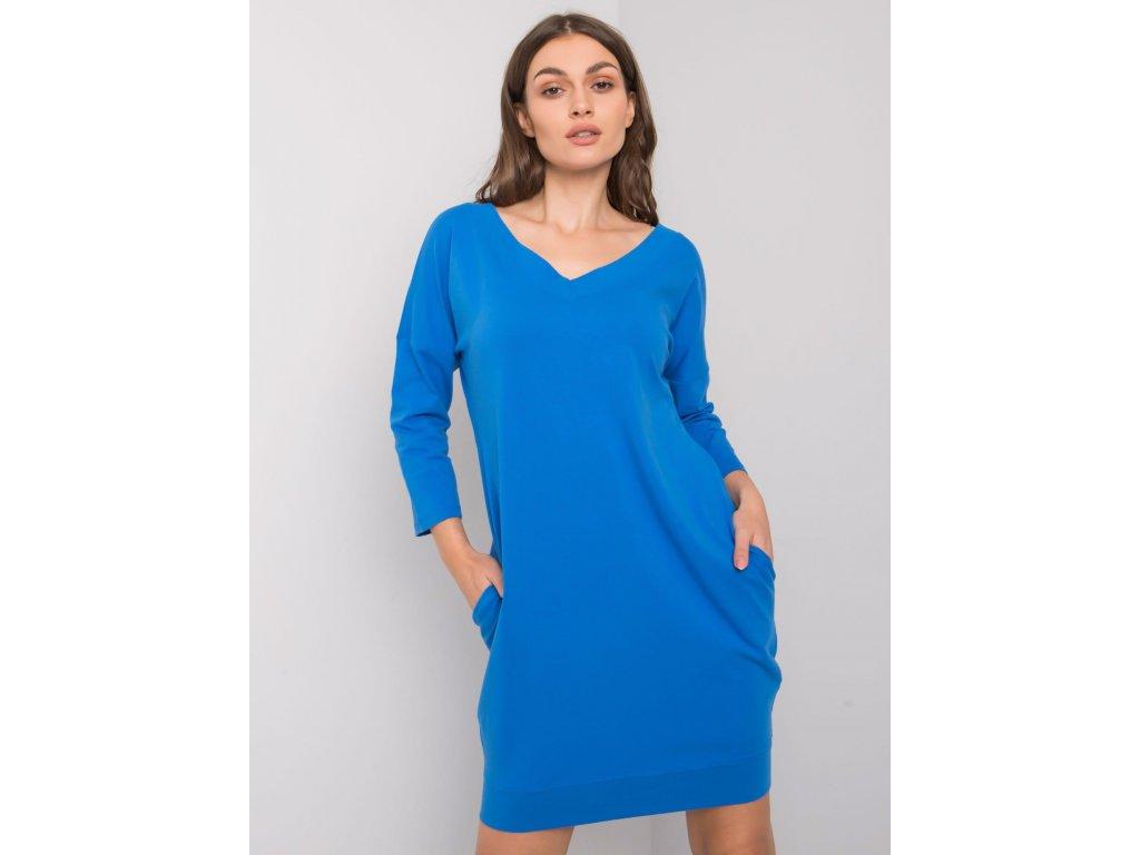 pol pl Ciemnoniebieska sukienka z bawelny Abijah 377661 1