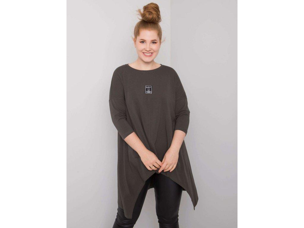 pol pl Ciemna khaki bluzka asymetryczna Ayesha 376001 1