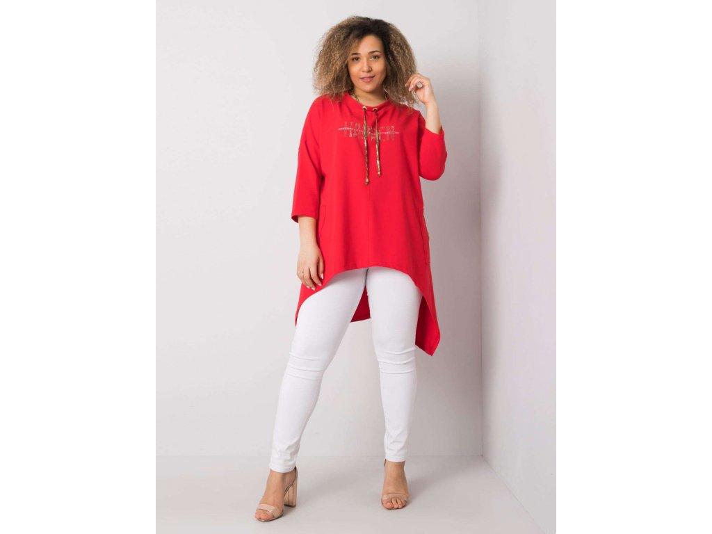 pol pl Czerwona bluzka z aplikacja Marion 362302 1