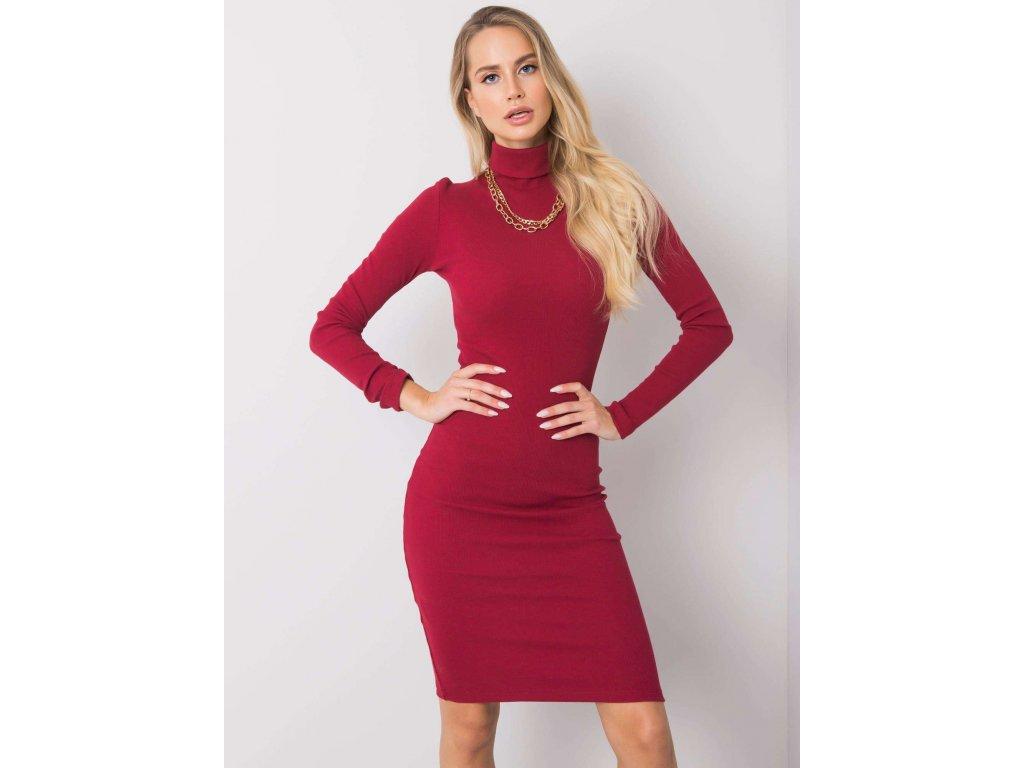 pol pl Bordowa sukienka Livia RUE PARIS 355773 3