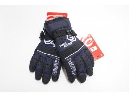 nepromokavé lyžařské rukavice- prstové vel. 6-15 let ,3 barvy