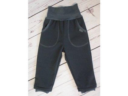 Dětské softshellové kalhoty s flísem vel. 80-164