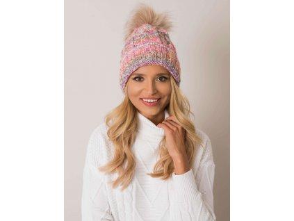 pol pl Kolorowa czapka zimowa RUE PARIS 354400 1