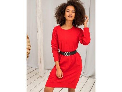 pol pl Czerwona sukienka Cristine 337865 6