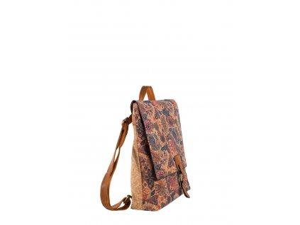 pol pl Czerwony damski plecak z ekoskory 328331 1