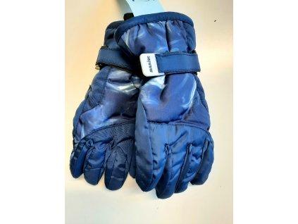 nepromokavé lyžařské rukavice- prstové vel. 3-5 let