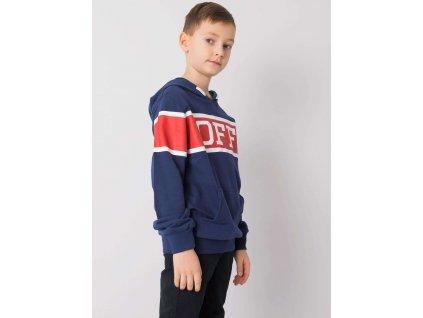 pol pl Granatowa bluza dla chlopca z printem 359129 2