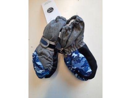 nepromokavé rukavice do sněhu- palčáky vel 3-6 let