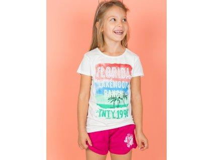 pol pl Ecru t shirt dla dziewczynki z napisami 276391 5
