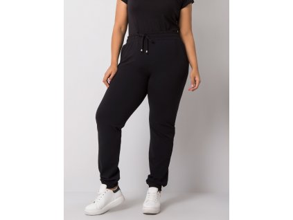 pol pl Czarne spodnie dresowe plus size Beatriz 360619 2