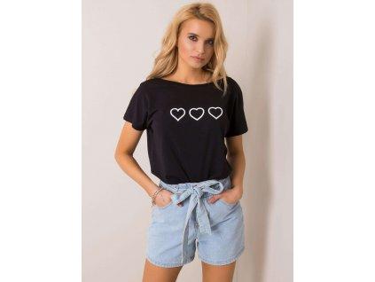pol pl Czarny t shirt Amor RUE PARIS 351314 1