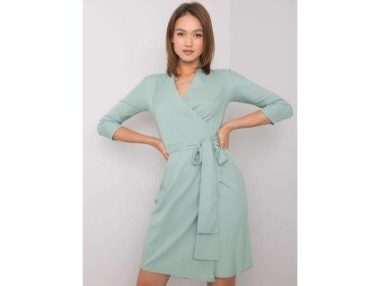 pol pl Zielona sukienka z wiazaniem Edelie 366385 1