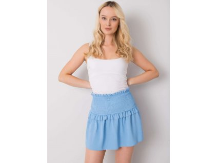 pol pl Niebieska mini spodnica Joanna OCH BELLA 367827 1