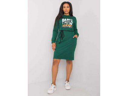 pol pl Zielona sukienka bawelniana plus size Lareen 372704 3