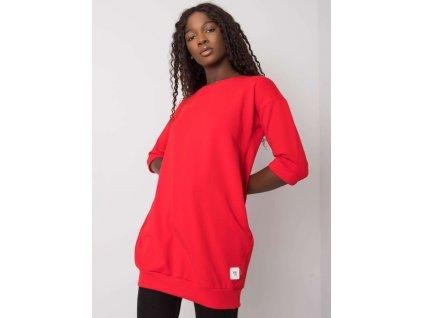 pol pl Czerwona bluza z kieszeniami Iveta 374101 1