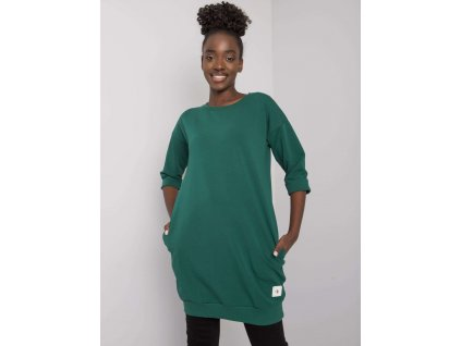 pol pl Ciemnozielona bluza z kieszeniami Iveta 378181 1