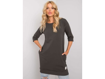 pol pl Ciemna khaki bluza z kieszeniami Iveta 374084 1