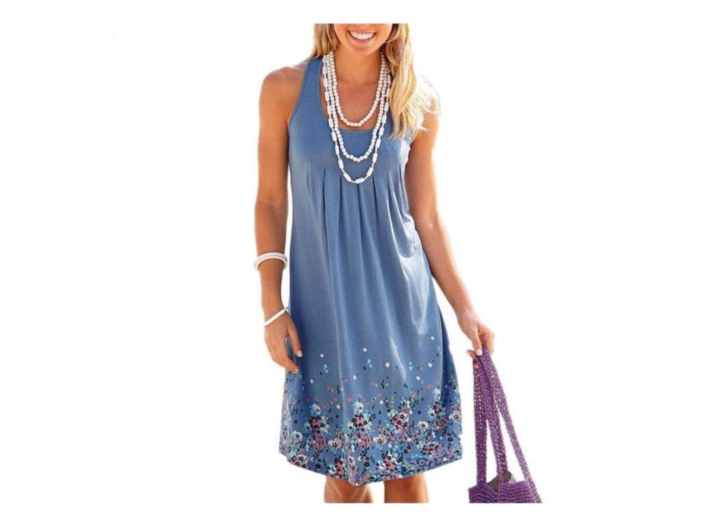 50045f75d Dámské letní šaty s květinami - OBLECSITO.CZ