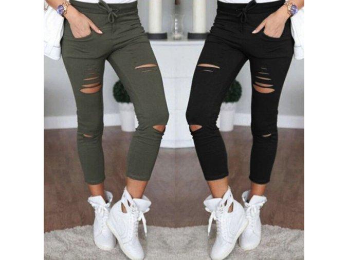 Dámské skinny nohavice - až 4XL