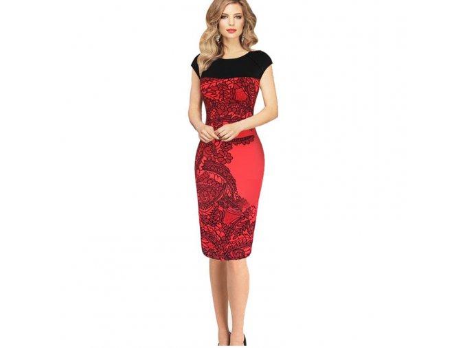 Luxusní dámské pouzdrové šaty