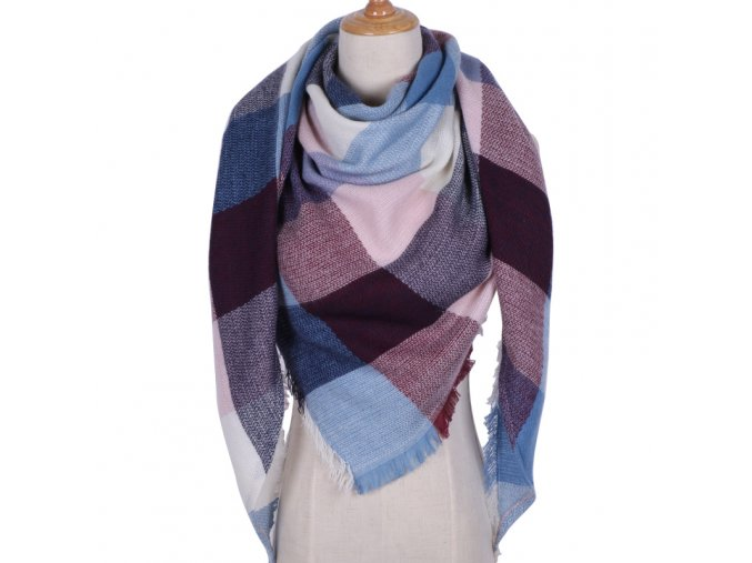 2017 Winter Brand Designer Triangle Scarf Women Shawl Cashmere Autumn Plaid Wool Scarves Blanket Wholesale Drop