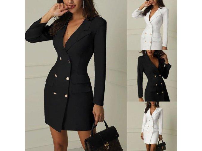 Elegantní krátký kabátek