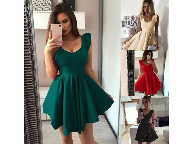 Elegantní krátké šaty - více barev
