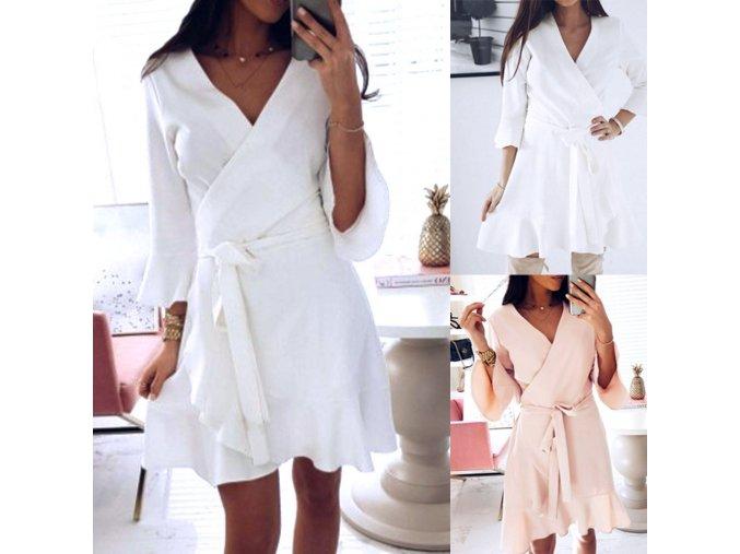 Letní zavinovací šaty