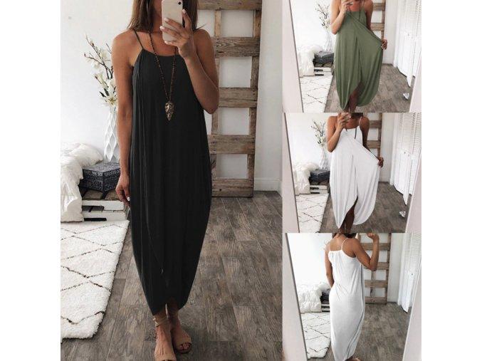 Basic stylové plážové šaty