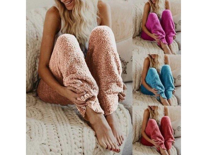 Dámské super pohodlné kalhoty na doma