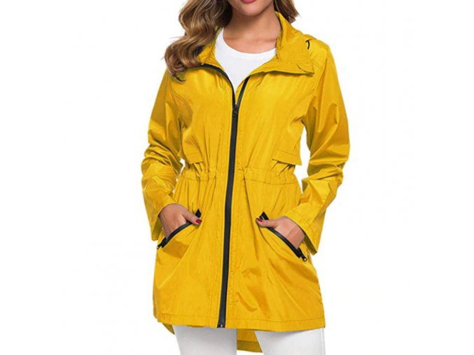 Dámská podzimní nepromokavá bunda - až 3XL