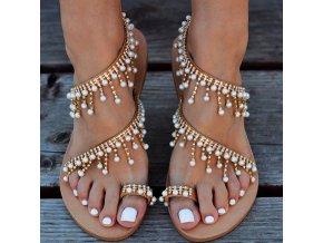 Dámské zdobené sandálky - 3 varianty