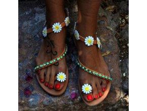 TIP dámské květinové sandálky