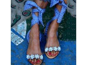 Luxusní sandály na zavazování - 6 barev