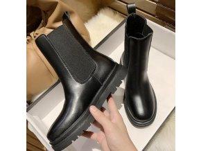 Boty - Módní dámské boty na zimu a podzim