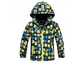 Chlapecká dětská zimní bunda