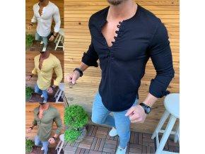 Stylová pánská prodyšná košile