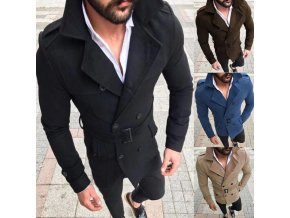 Pánský luxusní elegantní kabát