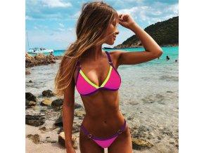 Barevné dovolenkové plavky NEONKY - 4 barvy