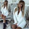 Bíle pletené šaty