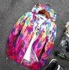 Unisex šusťáková maskáčová bunda