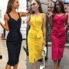 Propínací dámské šaty - více barev