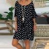 Volné šaty s hvězdičkami