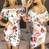 Šaty s romantickými květy