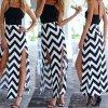 Letní zajímavé šaty s vysokými rozparky