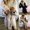 Dámský zimní kabát s luxusní kožešinou