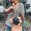 Dámský podzimní oversize svetr
