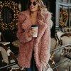 Dámský podzimní ''fluffy'' kabátek - 2 varianty